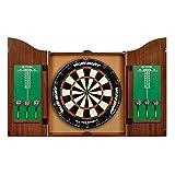 "World Master 18"" Bristle Dartboard and Cabinet Set"