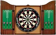 """World Master 18"""" Bristle Dartboard and Cabine"""
