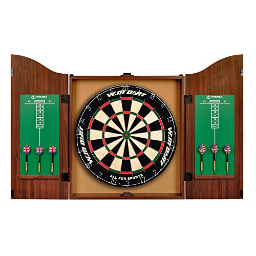 "World Master 18"" Bristle Dartboard and Cabinet Set for sale  Delivered anywhere in Canada"