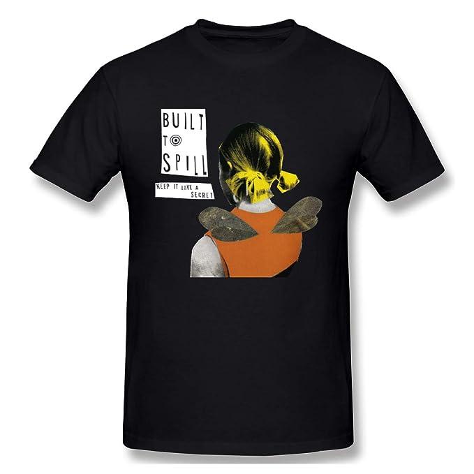 Amazon com: Built-to-Spill-Keep-It-Like-A-Secret T Shirt