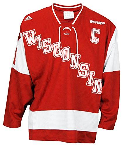 Wisconsin Badgers NCAA Men s Hockey Jersey - Buy Online in Oman ... 7b3723dbc79