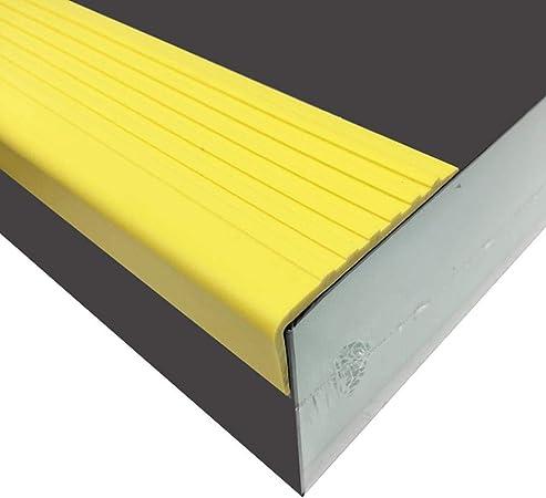 Peldaños Antideslizantes Para Escaleras, Alfombras Adhesivas Cubierta Antideslizante Para Alfombra Alfombra De PVC Tira De Escalera Para Aumentar La Seguridad Y Evitar Lesiones A Niños, Ancianos: Amazon.es: Hogar
