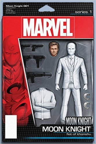 Moon Knight #1 Christopher Action Figure Var Comic Book
