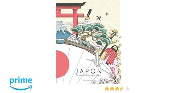 Japón libro para colorear para adultos 1: Volume 1: Amazon.es: Nick ...