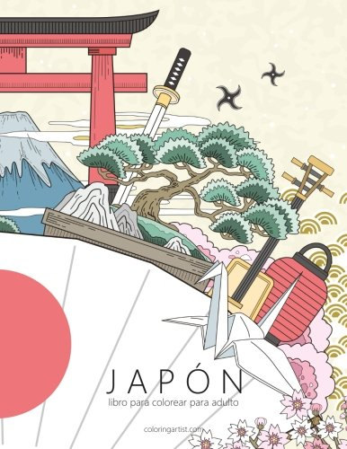 Libro : Japon Libro Para Colorear Para Adultos 1 (volume ...