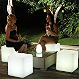 Garden Winds Color Changing LED Glow Cube with