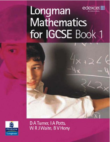 Longman Mathematics for IGCSE: Bk. 1