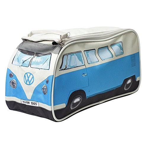 The Monster Factory VW Volkswagen T1 Camper Van Toiletry Wash Bag - Blue - Multiple Color Options Available