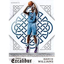 2015-16 Panini Excalibur #118 Marvin Williams Charlotte Hornets Basketball Card