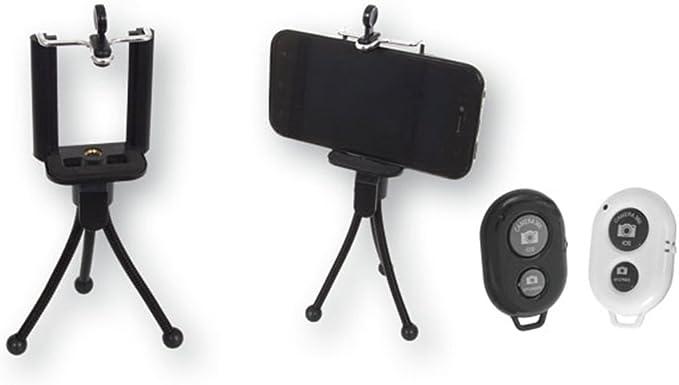 Dakota Set TRÍPODE para SMARTPHONE con 3 pies flexibles + MANDO ...