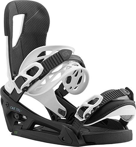 Burton Cartel EST Snowboard Bindings All Eyez Sz M (8-11)