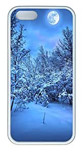 phone covers 2014 New Year's Eve Custom Case Cover Compatible with Apple iPhone 5c - TPU - White
