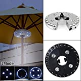 CALAP-STORE - Super Bright Umbrella Pole Light 3Mode 28LED Cordless Tent Lamp For Outdoor Camping Patio Garden