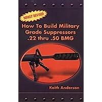 How to Build Military Grade Supressors .22 Thru .50 BMG