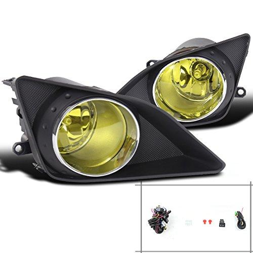 Spec-D Tuning LF-COR07AMOEM Yellow Fog Light (Orem Style) ()