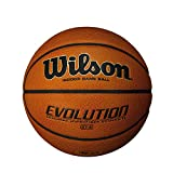 Wilson Evolution Game Basketball, Black, Youth Size - 27.5""