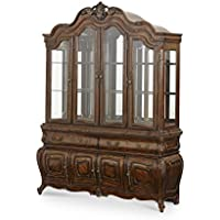Michael Amini Lavelle China Cabinet Top, Melange