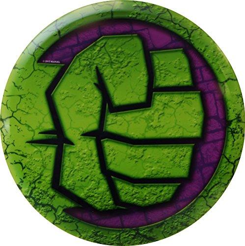 Dynamic Discs Marvel DyeMax Fuzion Judge Mini Disc Golf Marker - Cracked Hulk Fist