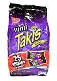 Product Of Barcel Takis , Mini Fuego Bag , 25 Count 1.2 oz (2 Packs)