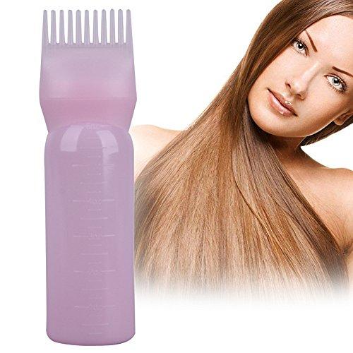 Hair Dye Bottle Applicator 120 ML Brush Dispensing Kit Graduated Bottles (Random Color) by Single Mom