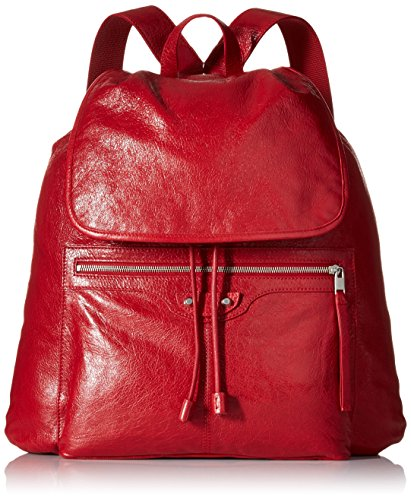 Balenciaga Men's Traveler Backpack, Red by Balenciaga