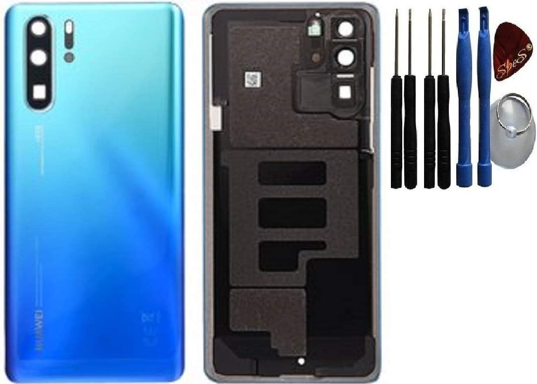 SPES Tapa trasera para Huawei P30 Pro color azul