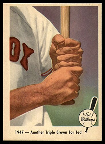 (1959 Fleer Ted Williams 33 1947 - Another Triple Crown for Ted NM)