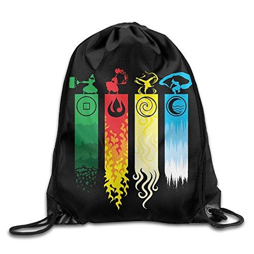 [JIMBERT The Last Air Bender Ava TarSports Backpack For Teens College Drawstring Bags Backpack] (Avatar The Last Air Bender Costumes)
