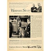 1954 Ad Employers Mutuals Insurance Wausau Story Roehl - Original Print Ad
