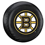 Fremont Die NHL Boston Bruins Tire Cover, Large Size (30-32'' Diameter)