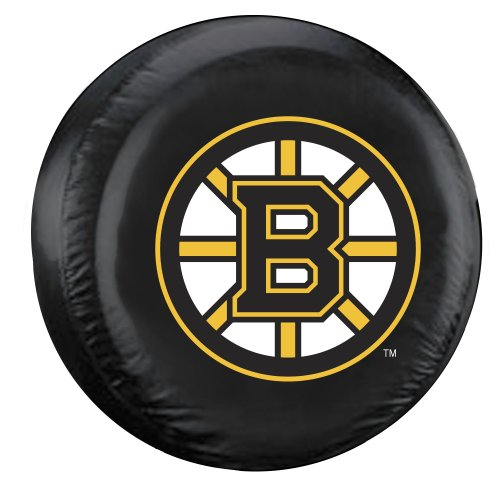 (Fremont Die NHL Boston Bruins Tire Cover, Standard Size (27-29