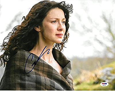 Caitriona Balfe Signed Outlander Autographed Auto 11x14 Photo PSA/DNA #AB89750