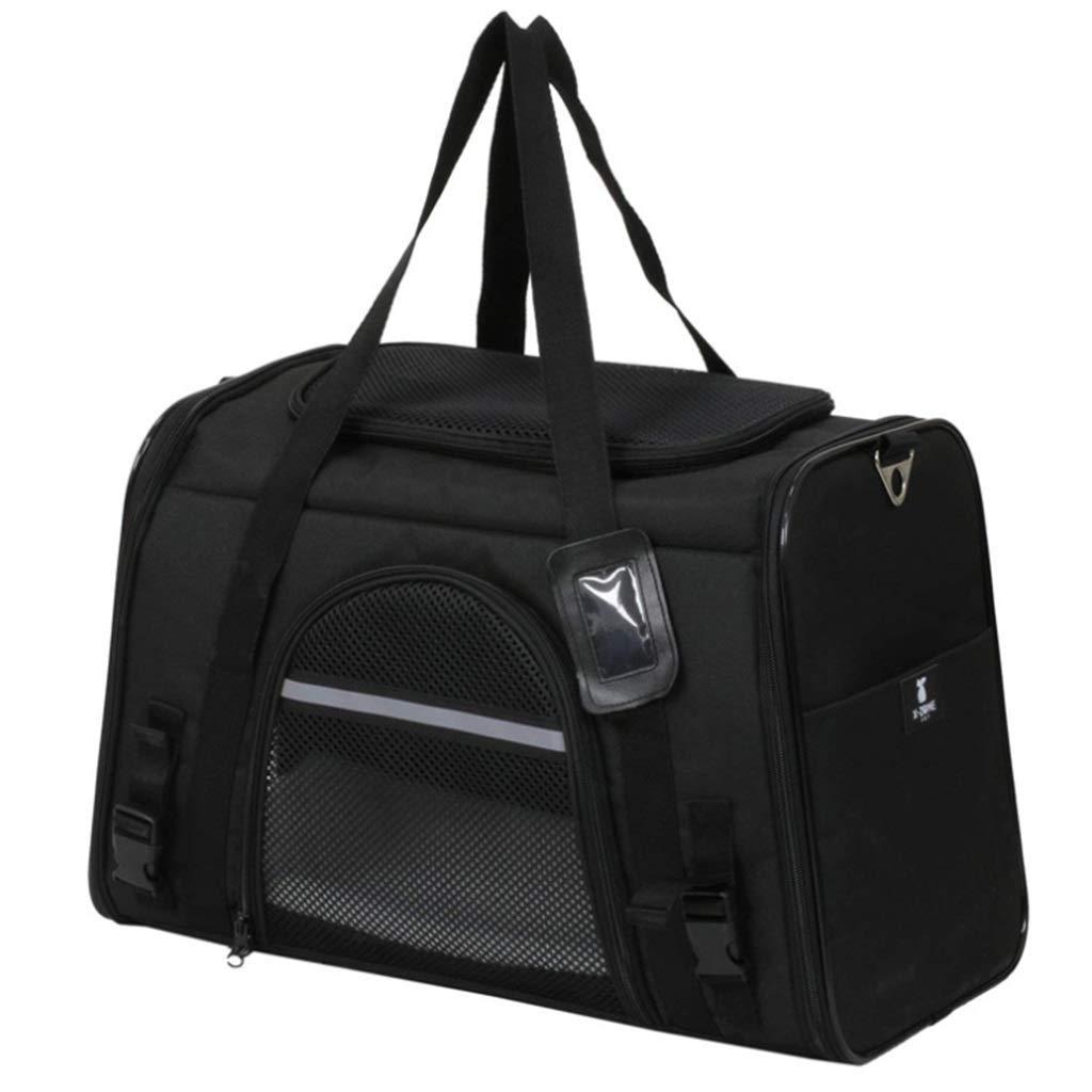 Pet Carrying Bag Shoulder Folding Out Portable Windproof Bag Cat and Dog Convenient