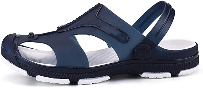 MSCHEN Zuecos Hombre, Sandalias Playa Antideslizante Respirable Piscina Jardín Zapatos Ultraligero Zapatillas Verano Fuera: Amazon.es: Deportes y aire libre