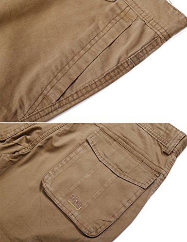 LOHASCASA Men's Big and Tall Cleaning Cargo Pants - Pockets