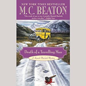 Death of a Traveling Man Audiobook