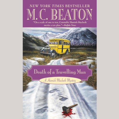 Bargain Audio Book - Death of a Traveling Man