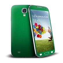 Cruzerlite Antibacterial Skin for Samsung Galaxy S4, Retail Packaging, Kelly Green