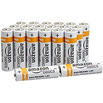 Amazon.com: AmazonBasics AA Everyday Alkaline Batteries