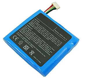 Bateria GERICOM 14.8V 4400mAh/65wh Compatible con 87-D408S-495, D400S Bat-8, CLEVO QXS-BAT-ION, 87-D408S-4C5, 87-D408S-495, 87-D408S-4D5, 87-D408S-4E5, BAT-4020, BAT-4094, y portatiles CLEVO D400 series, D410 series, D470 series