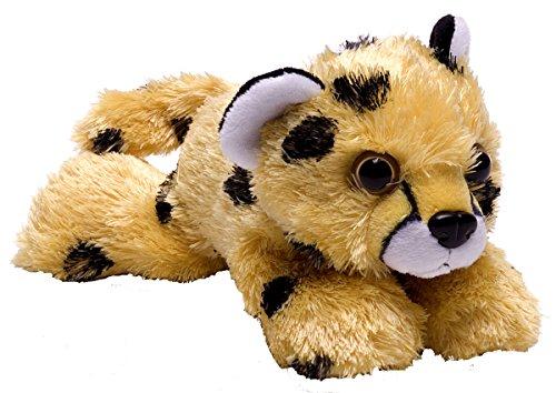 Wild Republic Cheetah Pup Plush, Stuffed Animal, Plush Toy, Gifts for Kids, Hug'Ems 7 ()