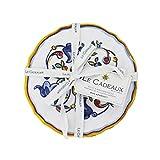 Le Cadeaux Melamine Capri - Set of 4 Appetizer