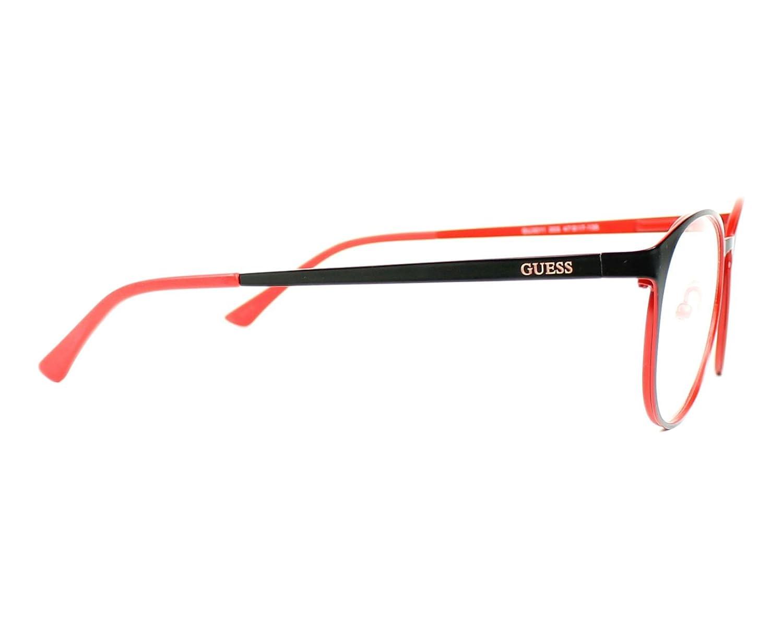 GU3011//S 005 Optical frame Guess Metal Matt Black Red