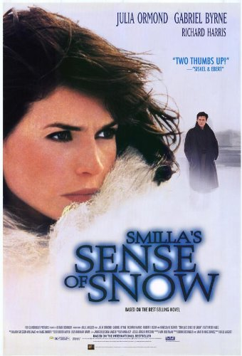 Smilla's Sense of Snow Movie Poster (27 x 40 Inches - 69cm x 102cm) (1996) -(Julia Ormond)(Gabriel Byrne)(Richard Harris)(Vanessa Redgrave)(Robert Loggia)(Jim Broadbent)