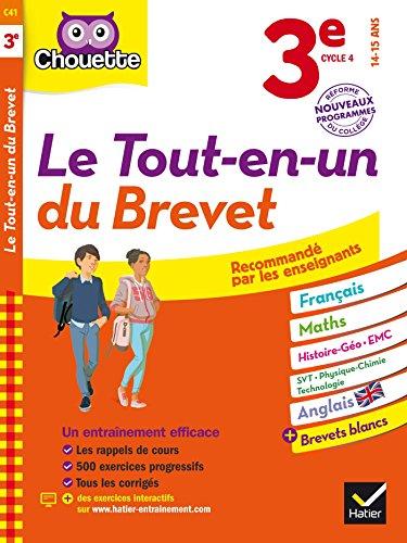 Chouette Le tout-en-un du brevet 3e : nouveau programme (French Edition)