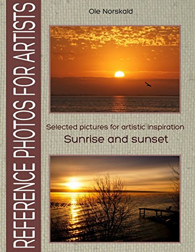 Sunrise and sunset. Selected pictures for artistic inspiration: Reference Photos for (Red Sea Stone)