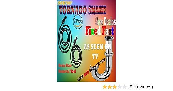 TORNADO SINK SNAKE 2 PCS PACK- AS SEEN ON TV: Amazon.com: Industrial & Scientific