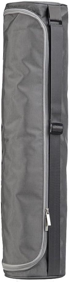 Bolsa para esterilla de yoga WINOMO con cremallera correa ajustable y bolsillo de almacenamiento