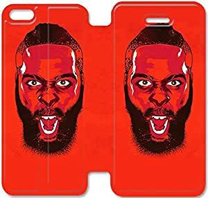 5c Cover,[Pu Leather Cover] James Harden Theme New iPhone 5c Case Cover KA3108