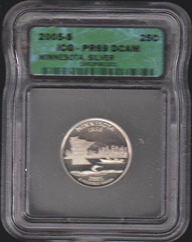 2005 S Washington (1932 to Date) Quarter PR-69 ICG